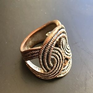 Jewelry - Textured metal ring